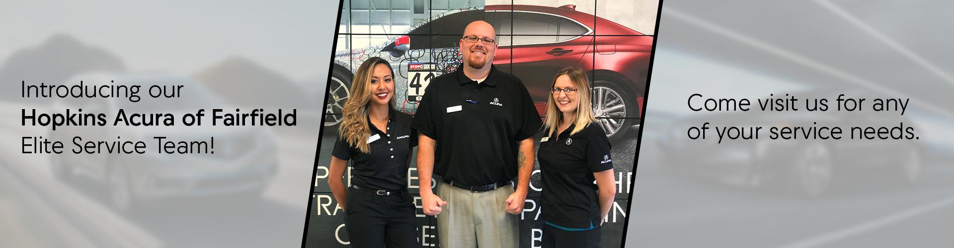 Service Team - Hopkins Acura of Fairfield